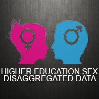 Infographics on Higher Education Sex Disaggregated Data