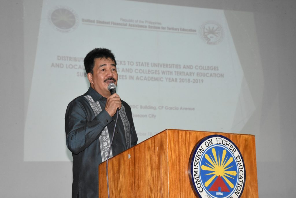 PhP4 8-B Tertiary Education Subsidy (TES) released to students in